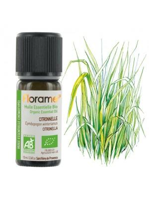 FLORAME: Aceite esencial de CITRONELA BIO 10ml