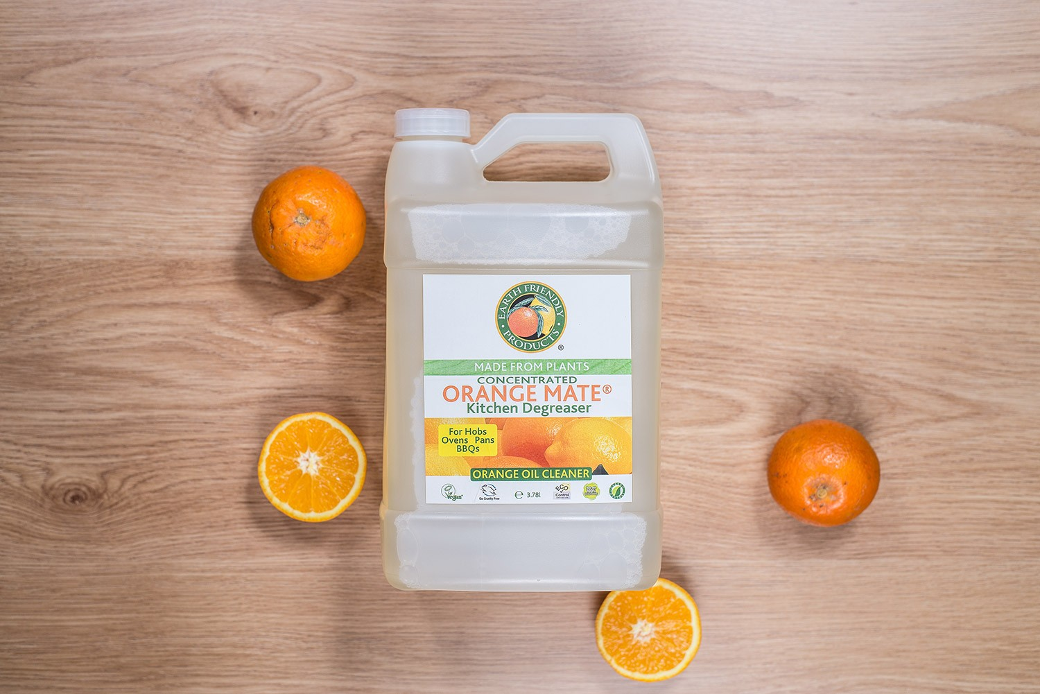Desengrasante de cocina CONCENTRADO NARANJA 3,78 L Earth Friendly ...