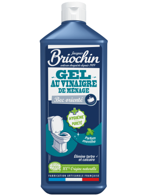 JACQUES BRIOCHIN: Gel WC au vinagre de ménage (Gel para WC)