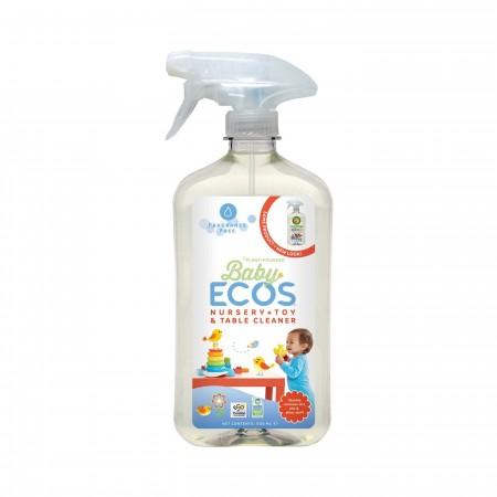 ECOS: Limpiador para juguetes y accesorios infantiles SIN AROMA 500ml