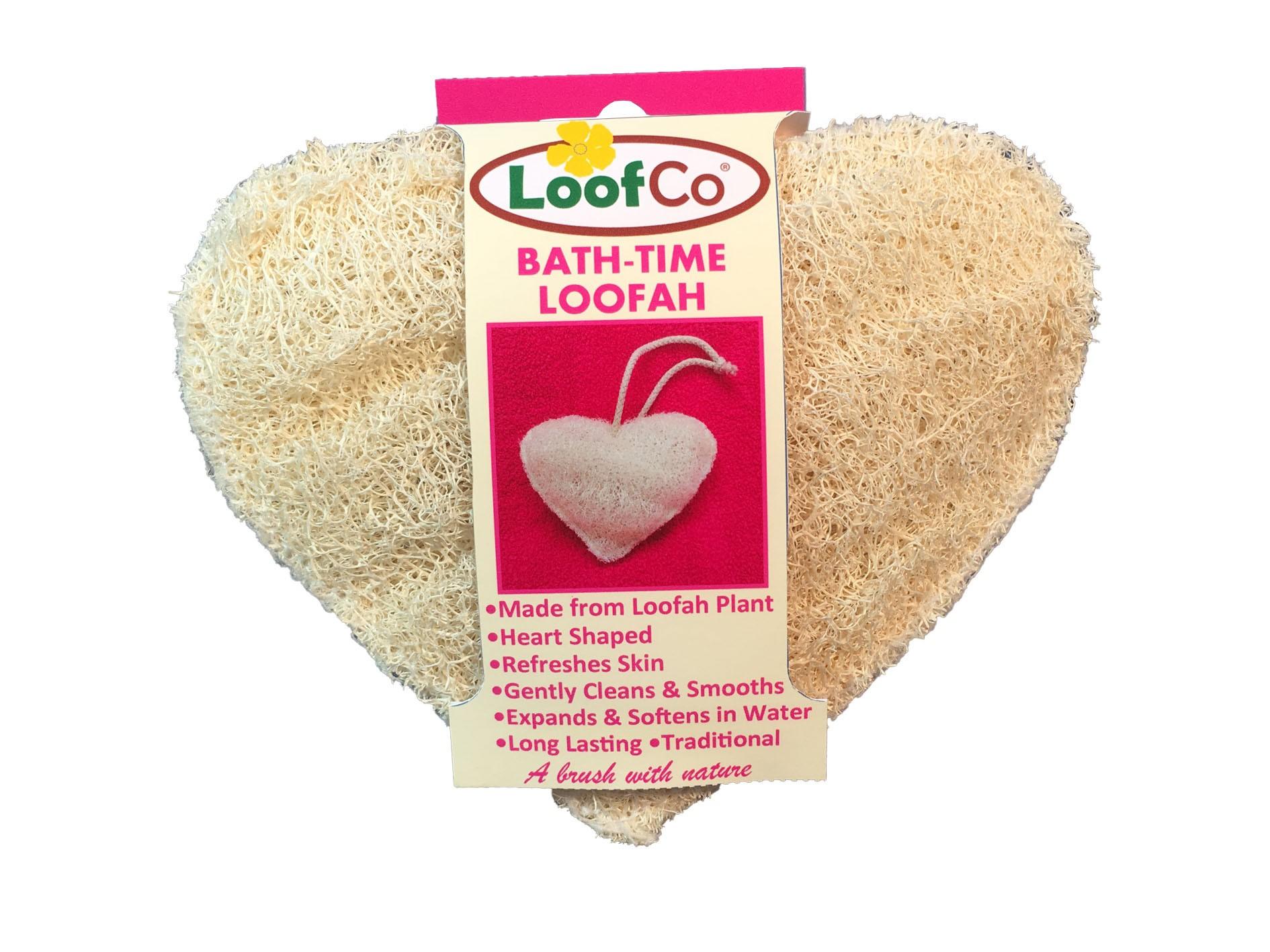 Esponja vegetal de luffa para cuerpo corazón Earth Friendly Products ...