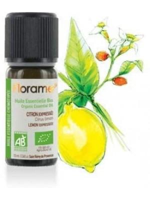 FLORAME: Aceite esencial de LIMÓN BIO 10ml