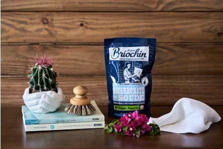 Jacques Briochin: Bicarbonate de soude sachet doypack (Bicarbonato sódico en polvo)