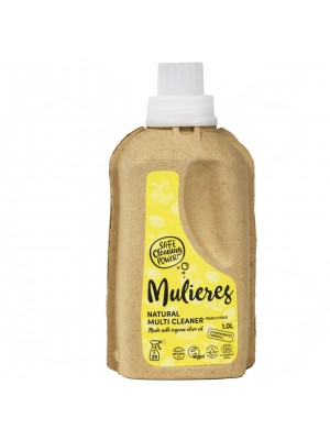 MULIERES: Natural concentrated multi cleaner Fresh Citrus 1 L (Limpiador multiusos concentrado Cítrico fresco 1L)
