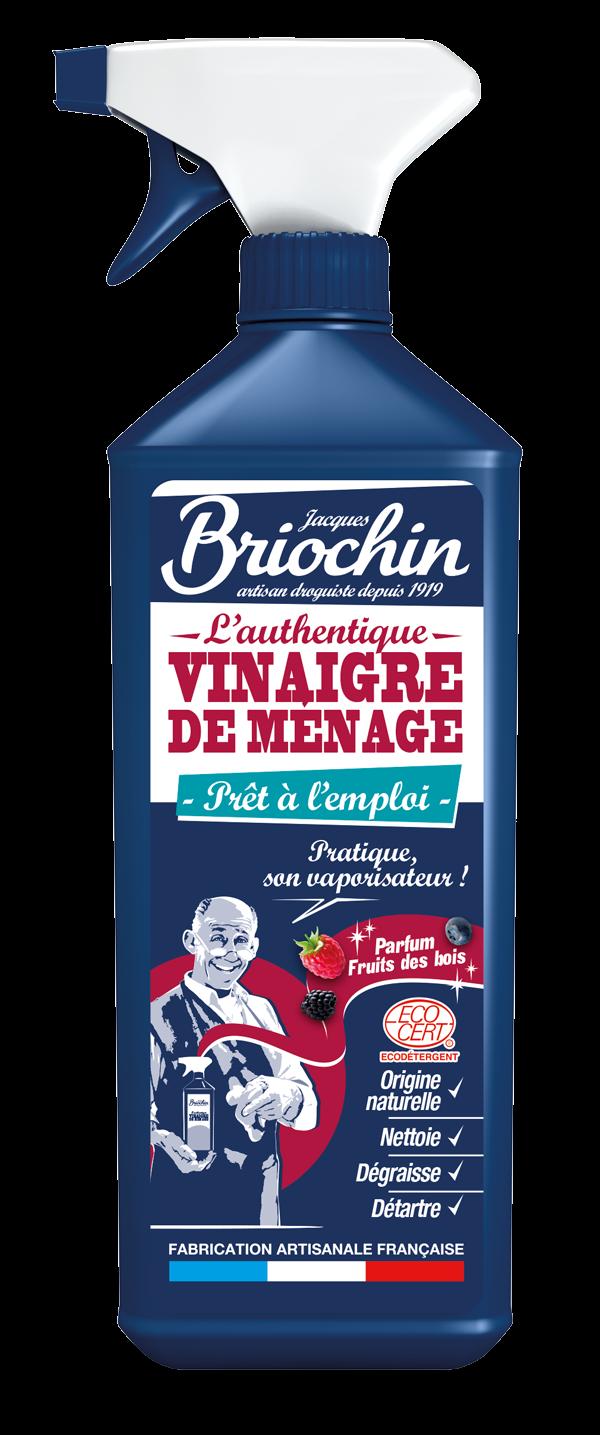 Jacques Briochin:VINAIGRE DE MÉNAGE AUX FRUITS DES BOIS (Vinagre de limpieza en spray frutos del bosque)