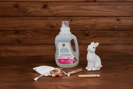 ECOS BEBÉ Detergente líquido Lirio y Karité 1,5L/50 LAVADOS
