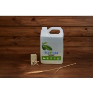ECO-MAX Toilet Cleaner Natural TEA TREE & LEMONGRASS (Limpiador para el inodoro Árbol de té y Limoncillo) 4L