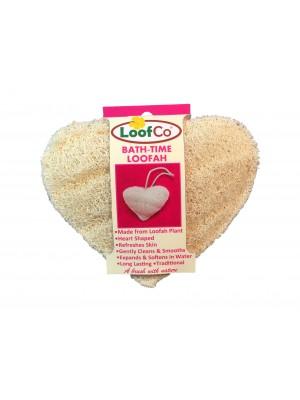 Esponja vegetal de luffa para cuerpo corazón