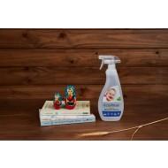 ECO-MAX: Baby Nursery & Toy Cleaner Fragrance Free (Limpiador para juguetes y accesorios infantiles SIN AROMA) 710ml