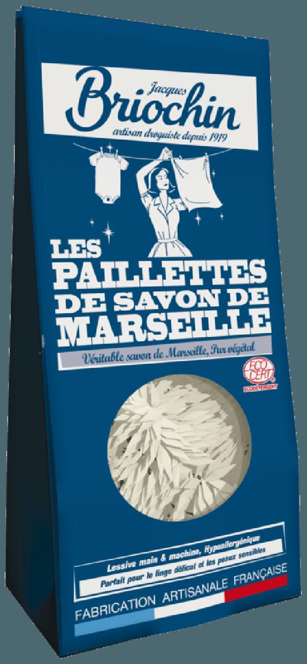 Jacques Briochin: Paillettes de Savon de Marseille (Escamas de jabón de Marsella)