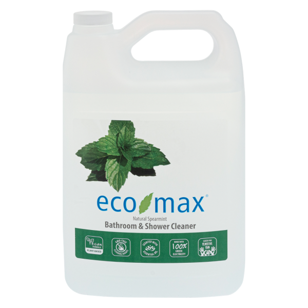 Eco-Max Bathroom & Shower Cleaner Natural Spearmint (Limpiador para baño y ducha MENTA) 4L