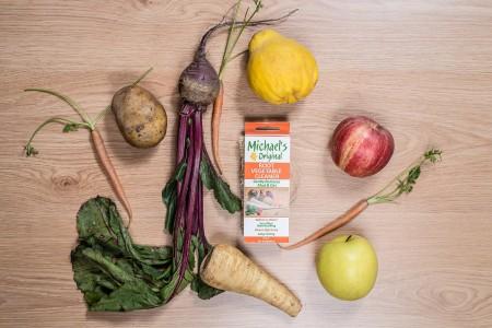 Esponja vegetal de LUFFA fruta y verdura