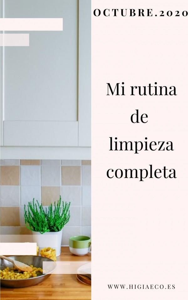 Planificador para las tareas del hogar. OCTUBRE