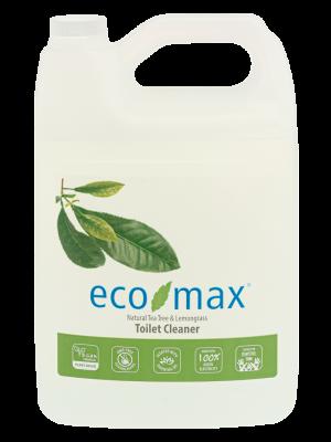 ECO-MAX Toilet Cleaner Natural TEA TREE & LEMONGRASS (Limpiador para el inodoro Árbol de té y Limoncillo) 4L