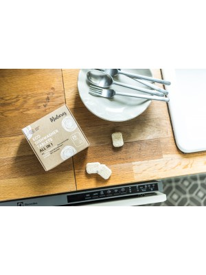 MULIERES: ECO DISHWASHER TABLETS ALL IN 1 (Lavavajillas en pastilla- GRANEL)