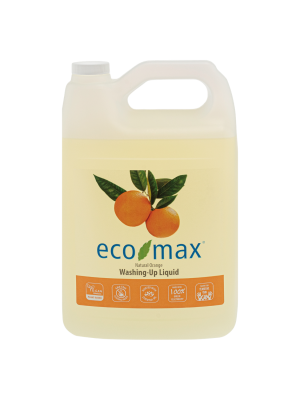 ECO-MAX Washing-Up Liquid - Natural Orange (Jabón para platos NARANJA) 4L