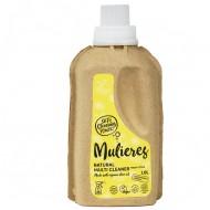 MULIERES: Natural concentrated multi cleaner Fresh Citrus 1 L (Limpiador multiusos concentrado Cítrico fresco 1L)