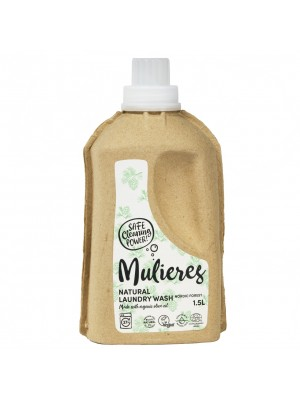 MULIERES: Natural concentrated laundry wash Nordic Forest 1,5 L (Jabón natural concentrado para la ropa Bosque Nórdico 1.5L/ 37 lavados)