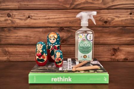 ECOS Removedor de manchas y olores para USO DIARIO 500ml