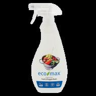 ECO-MAX Fruit & Veggie Wash Fragrance-Free (Producto para fruta y verdura SIN AROMA) 710 ml