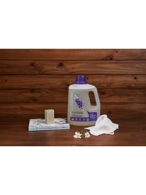 ECO-MAX: Laundry Liquid Natural LAVENDER (Jabón para la ropa sin enzimas LAVANDA) 3L/ 100 LAVADOS