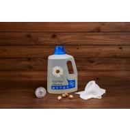 ECO-MAX: Laundry Liquid Natural FRAGRANCE FREE (Jabón para la ropa sin enzimas SIN AROMA) 1.5L/ 50 LAVADOS