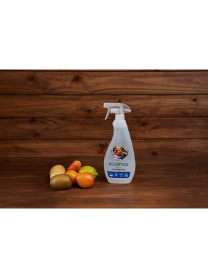 ECO-MAX Fruit & Veggie Wash Fragrance-Free (Producto para fruta y verdura SIN AROMA) 710 ml