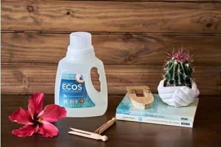 ECOS Detergente líquido SIN AROMA 1.5 L/50 LAVADOS