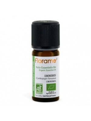 FLORAME: Aceite esencial de LEMONGRASS BIO 10ml