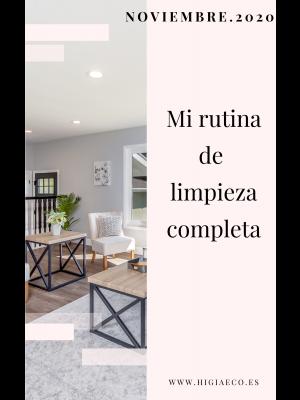 Planificador para las tareas del hogar. NOVIEMBRE
