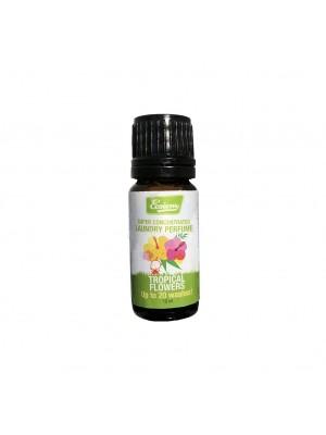 perfume de lavado flores tropicales
