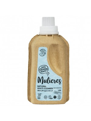 MULIERES: Natural concentrated multi cleaner SIN AROMA 1 L (Limpiador multiusos concentrado SIN AROMA 1L)