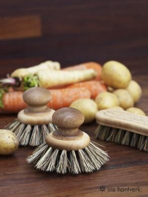 IRIS HANTVERK: Cepillo redondo para cacerolas, cazuelas y sartenes